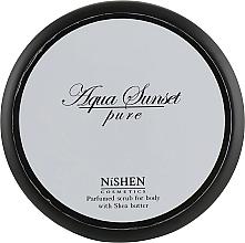 Духи, Парфюмерия, косметика Парфюмированный скраб для тела - Nishen Aqua Sunset Pure Parfumed Scrub For Body