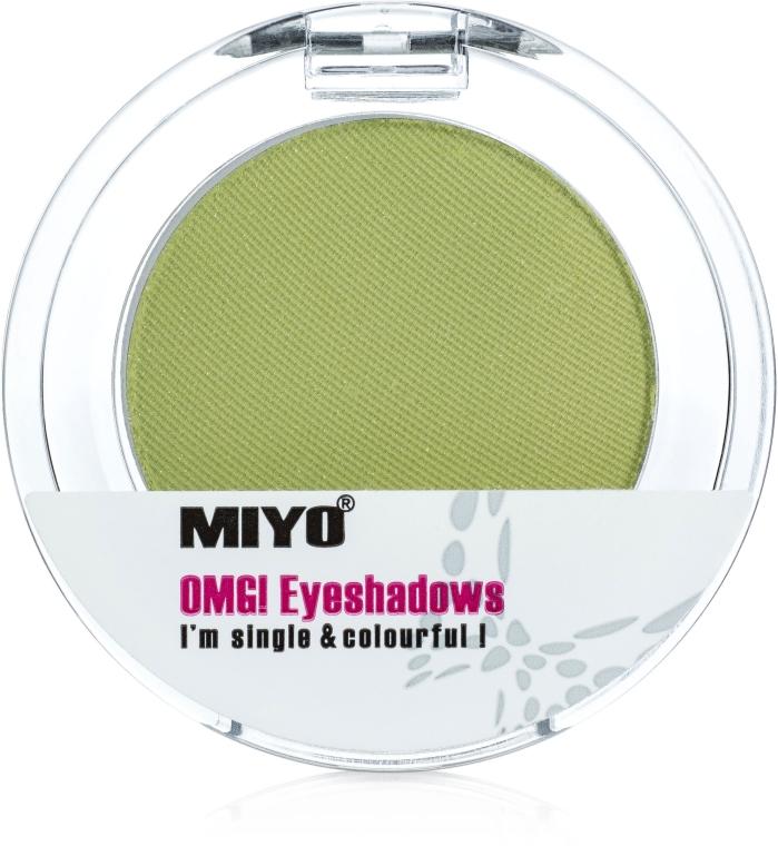 Одноцветные тени для век - Miyo Omg Eyeshadows