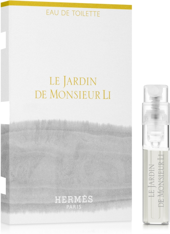 Hermes Le Jardin de Monsieur Li - Туалетная вода (пробник)
