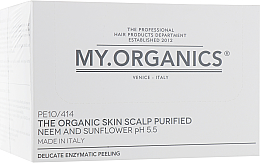 Духи, Парфюмерия, косметика РАСПРОДАЖА Деликатный органический пилинг для кожи головы с маслом ним и экстрактом подсолнечника - My.Organics My.Scalp Skin Balancing Preparation *
