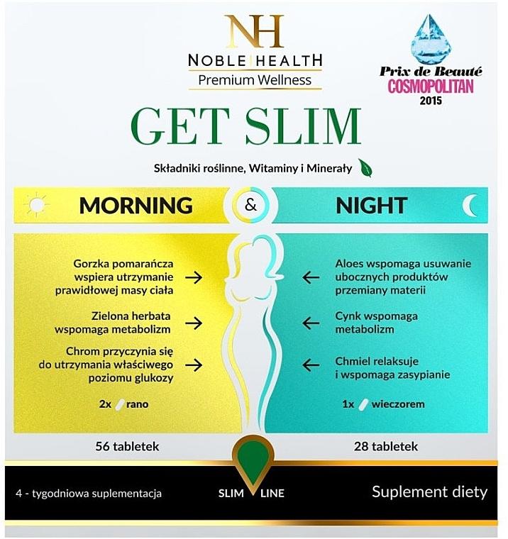 Комплекс для похудения, 84шт - Noble Health Get Slim