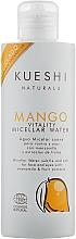 Духи, Парфюмерия, косметика Мицелярная вода для лица с экстрактом манго - Kueshi Naturals Mango Vitality Micellar Water
