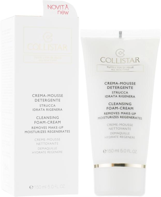 Крем-мусс для умывания для всех типов кожи - Collistar Crema-Mousse Detergente