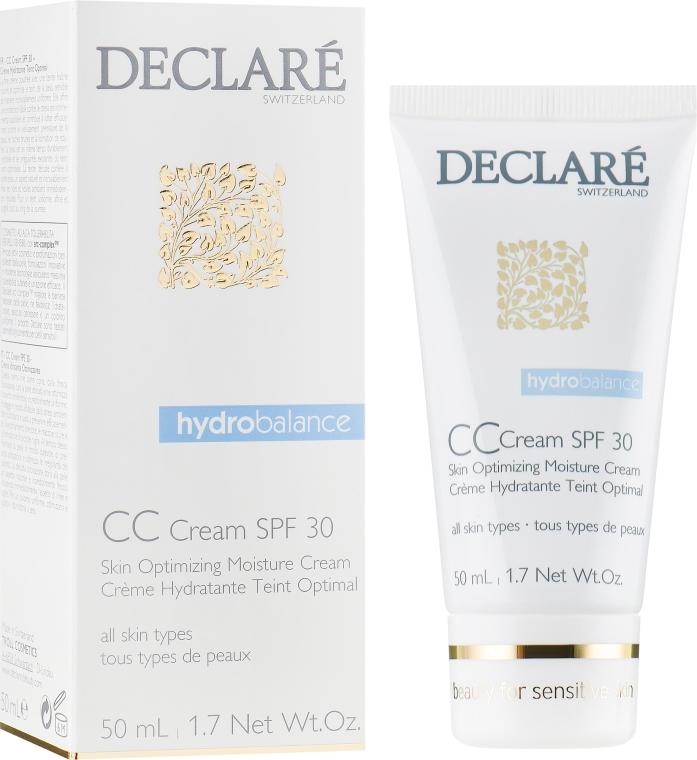 CC-крем для лица с SPF 30 - Declare Skin Optimizing Moisture Cream