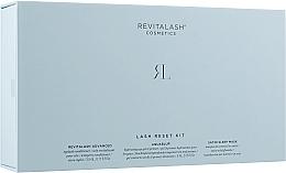 Духи, Парфюмерия, косметика Набор - RevitaLash Lash Reset Kit (gel/primer/5ml+eyelash/cond/3ml+mask/1pcs)