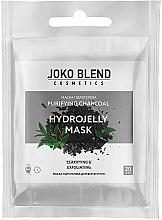Духи, Парфюмерия, косметика Маска гидрогелевая для лица - Joko Blend Purifying Charcoal Hydrojelly Mask
