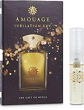 Духи, Парфюмерия, косметика Amouage Jubilation XXV Man - Парфюмированная вода (пробник)