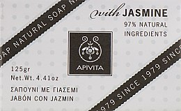 "Мыло ""Жасмин"" - Apivita Soap with Jasmine — фото N1"