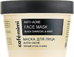 "Духи, Парфюмерия, косметика Маска для лица ""Анти-акне"" - Cafe Mimi Face Mask"