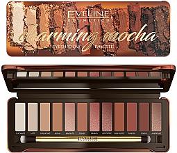 Духи, Парфюмерия, косметика Палетка теней для век - Eveline Cosmetics Charming Mocha Eyeshadow