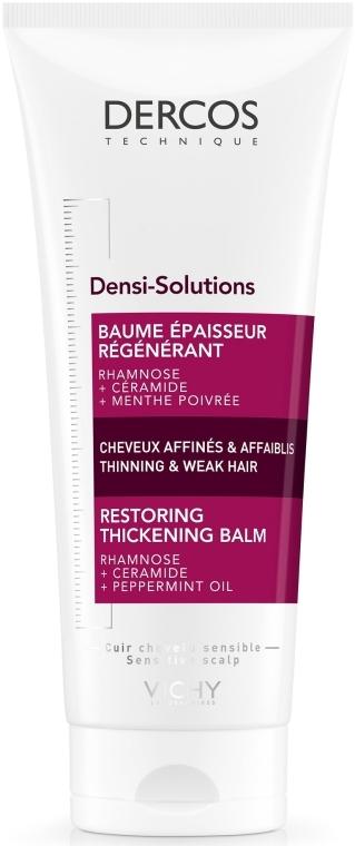 Бальзам-кондиционер для восстановления густоты и объема тонких и ослабленых волос - Vichy Dercos Densi-Solutions Restoring Thickening Balm