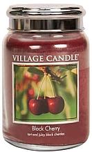 """Духи, Парфюмерия, косметика Ароматическая свеча в банке """"Черная черешня"""" - Village Candle Black Cherry"""