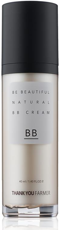 BB-крем для лица - Thank You Farmer Be Beautiful Natural BB Cream SPF30 PA++