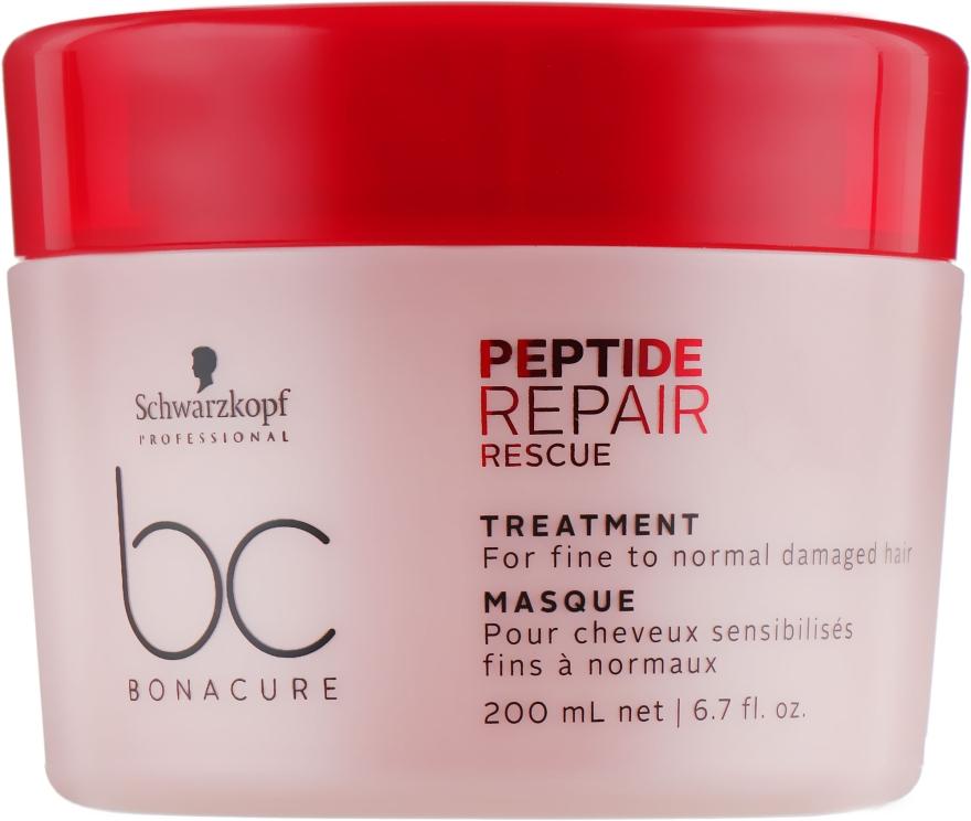 Восстанавливающая маска - Schwarzkopf Professional BC Repair Rescue PeptideTreatment