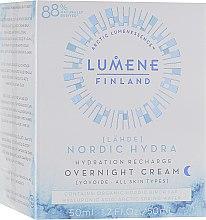 Духи, Парфюмерия, косметика Ночной увлажняющий крем для лица - Lumene Lahde Hydration Recharge