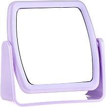 Духи, Парфюмерия, косметика Зеркало на подставке 85727, квадратное, сиреневое - Top Choice Beauty Collection Mirror