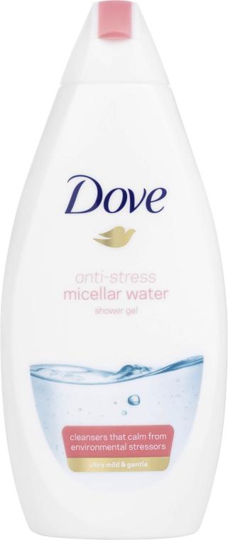 "Мицеллярный гель для душа ""Антистресс"" - Dove Anti-stress Micellar Water"