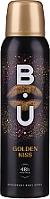 Духи, Парфюмерия, косметика B.U. Golden Kiss Deodorant Body Spray 48H Freshness - Дезодорант-спрей