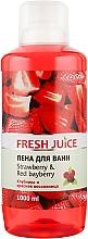 Парфумерія, косметика Піна для ванни - Fresh Juice Strawberry and Red Bayberry
