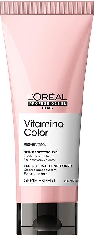 Кондиционер для защиты цвета волос - L'Oreal Professionnel Serie Expert Vitamino Color Resveratrol Conditioner