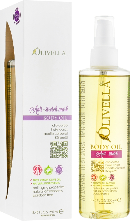 Масло для тела от растяжек - Olivella Anti-Stretch Mark Body Oil
