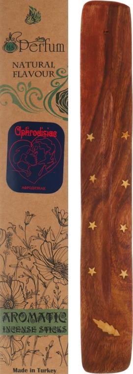 """Аромапалочки с деревянной подставкой """"Афродизиак"""" - MSPerfum"""