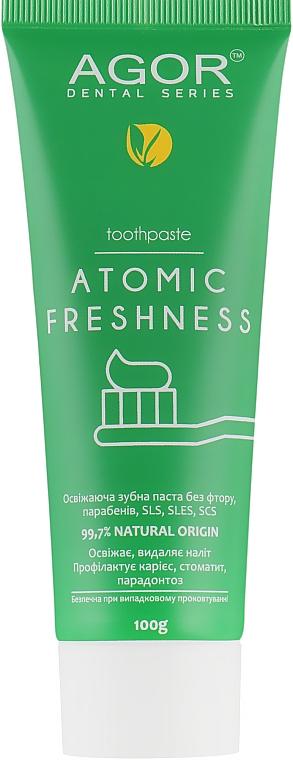 Освежающая зубная паста - Agor Atomic Freshness