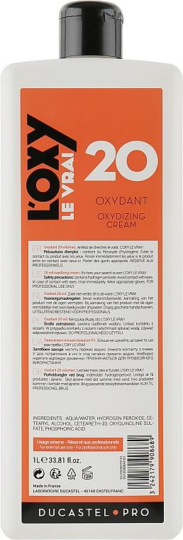 """Окислитель """"Ducastel"""" 6% с приятным запахом - Laboratoire Ducastel Subtil Creme Oxydant"""