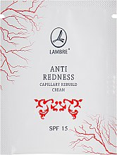 Духи, Парфюмерия, косметика Крем от сосудистой сетки на лице - Lambre Anti Redness Capillary Rebuild Cream (пробник)