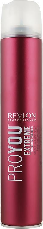 Лак ультрасильной фиксации - Revlon Professional Pro You Extra Strong Hair Spray Extreme