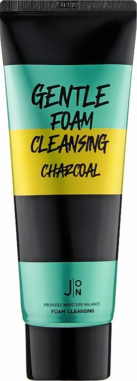 Пенка для умывания - J:ON Gentle Foam Cleansing Charcoal