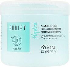 Парфумерія, косметика Маска для інтенсивного зволоження та живлення волосся - Kaaral Hydra Deep Moiturizing Mask