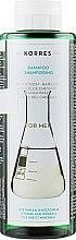 Парфумерія, косметика Шампунь-тонік для чоловіків проти випадіння волосся - Korres Pure Greek Olive Shampoo Cystine And Minerals