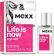 Духи, Парфюмерия, косметика Mexx Life is Now for Her - Туалетная вода (мини)