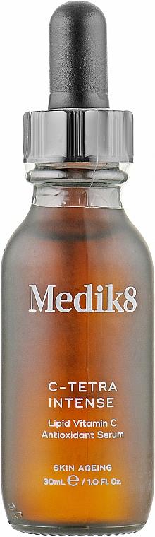 Интенсивная сыворотка с витамином С и антиоксидантами - Medik8 C-Tetra Luxe Lipid Vitamin C Enhanced Radiance Serum