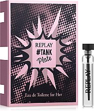 Духи, Парфюмерия, косметика Replay Tank Plate For Her - Туалетная вода (пробник)