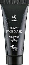 Духи, Парфюмерия, косметика Маска для лица, детокс и матирующий эффект - Lambre Black Face Mask