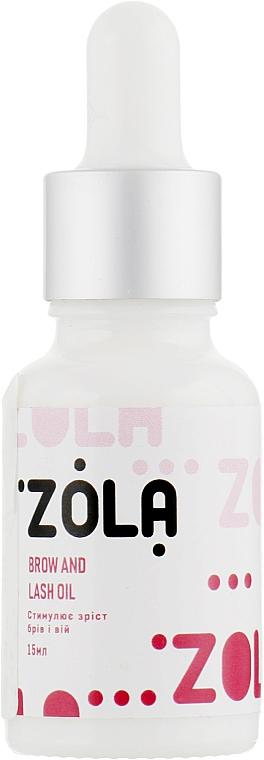 Масло для бровей и ресниц - Zola
