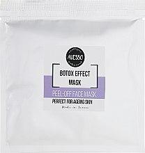 Духи, Парфюмерия, косметика Маска для лица с эффектом ботокса - Alesso Professionnel Botox Like Peel-Off Mask