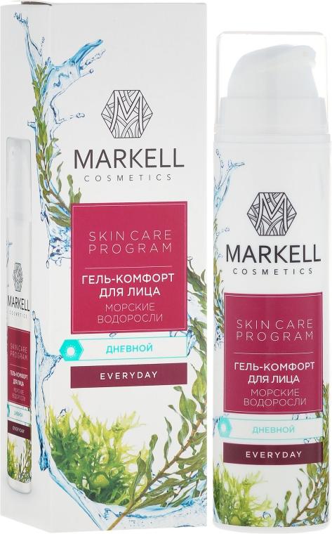 """Гель-комфорт для лица """"Морские водоросли"""" дневной - Markell Cosmetics Every Day Cream Gel"""