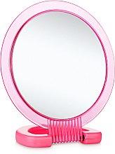 Духи, Парфюмерия, косметика Зеркало косметическое двухстороннее, L1, розовое - Элита