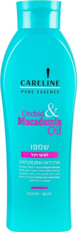 """Шампунь для нормальных волос """"Орхидея и масло Макадамии"""" - Careline Pure Essence Shampoo Normal Hair"""