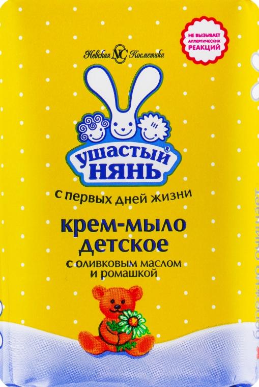 Крем-мыло с оливковым маслом и ромашкой - Ушастый нянь