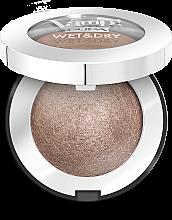 Парфумерія, косметика Запечені тіні з сяючим фінішем - Pupa Vamp! Wet & Dry Eyeshadow