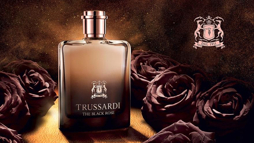 Trussardi The Black Rose - Парфюмированная вода (тестер с крышечкой) — фото N3