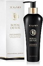 Духи, Парфюмерия, косметика Шампунь для королевской гладкости и абсолютной детоксикации - T-LAB Professional Royal Detox Shampoo
