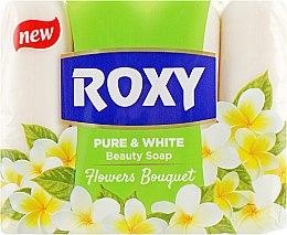 "Духи, Парфюмерия, косметика Туалетное мыло ""Цветочный букет"" - Dalan Roxy Pure & White Flowers Bouquet Soap"