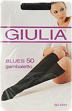 "Духи, Парфюмерия, косметика Гольфы для женщин ""Blues Gambaletto"" 50 Den, nero - Giulia"