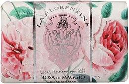 "Духи, Парфюмерия, косметика Мыло ""Майская роза"" - La Florentina Rose of May Bath Soap"