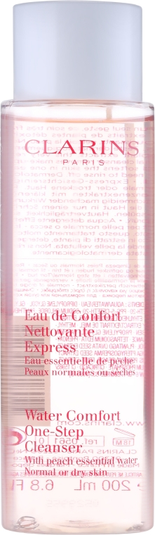 Увлажняющий лосьон - Clarins Water Comfort One-Step Cleanser